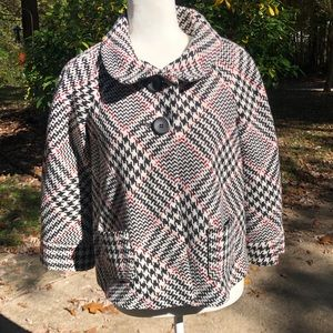 🎈NEW LISTING! Alison Taylor Houndstooth Jacket